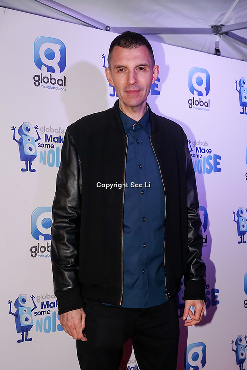 Tim Westwood attend gala night hosted by Global Radio to support its charity Make Some Noise. The charity awards grants to projects across the country to help children and young people affected by illness, disability, bereavement or lack of opportunity on 24th November 2016,London,UK. Photo by See Li