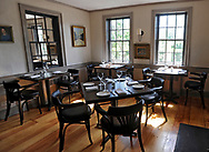 COTUIT -- 060413 -- The dining rooms at The Regatta have been re-painted and decorated with a more contemporary feel.  Cape Cod Times/Christine Hochkeppel