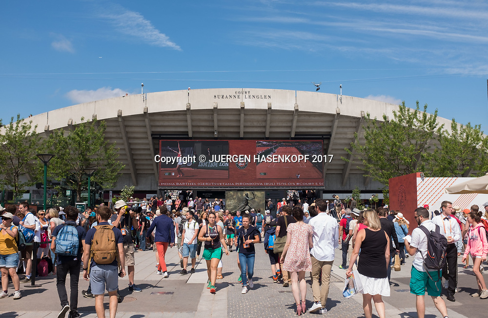 French Open 2017 Feature<br /> <br /> Tennis - French Open 2017 - Grand Slam / ATP / WTA / ITF -  Roland Garros - Paris -  - France  - 30 May 2017.