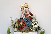 Paulinerkloster Mariahilf, Madonna, Passau, Bayerischer Wald, Bayern, Deutschland | abbey church Mariahilf, Passau, Bavarian Forest, Bavaria, Germany