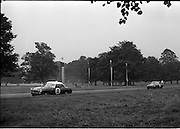 16/09/1967<br /> 09/16/1967<br /> 16 September 1967<br /> Phoenix Park Motor Racing, Kingsway Trophy Race, sponsored by Player and Wills (Ireland) Limited.  Image shows H. Newenham's M.G.B. (2) and J.A. Philips' M.G.B.G.T. (1).