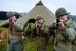 """Sunday 7th May 2017 East Fortune:  Wartime Experience at the National Museum of Flight, East Fortune.  Enactors from """"They Lead The Way"""".<br /> <br /> (c) Andrew Wilson   Edinburgh Elite media"""