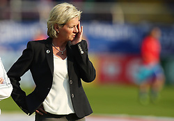 12.04.2016, Osnatel Arena, Osnabrueck, GER, UEFA Euro Qualifikation, Frauen, Deutschland vs Kroatien, im Bild Silvia Neid (Trainerin, Deutschland) // during the UEFA Womens Euro Qualification Match between Germany and Croatia at the Osnatel Arena in Osnabrueck, Germany on 2016/04/12. EXPA Pictures © 2016, PhotoCredit: EXPA/ Eibner-Pressefoto/ Deutzmann<br /> <br /> *****ATTENTION - OUT of GER*****