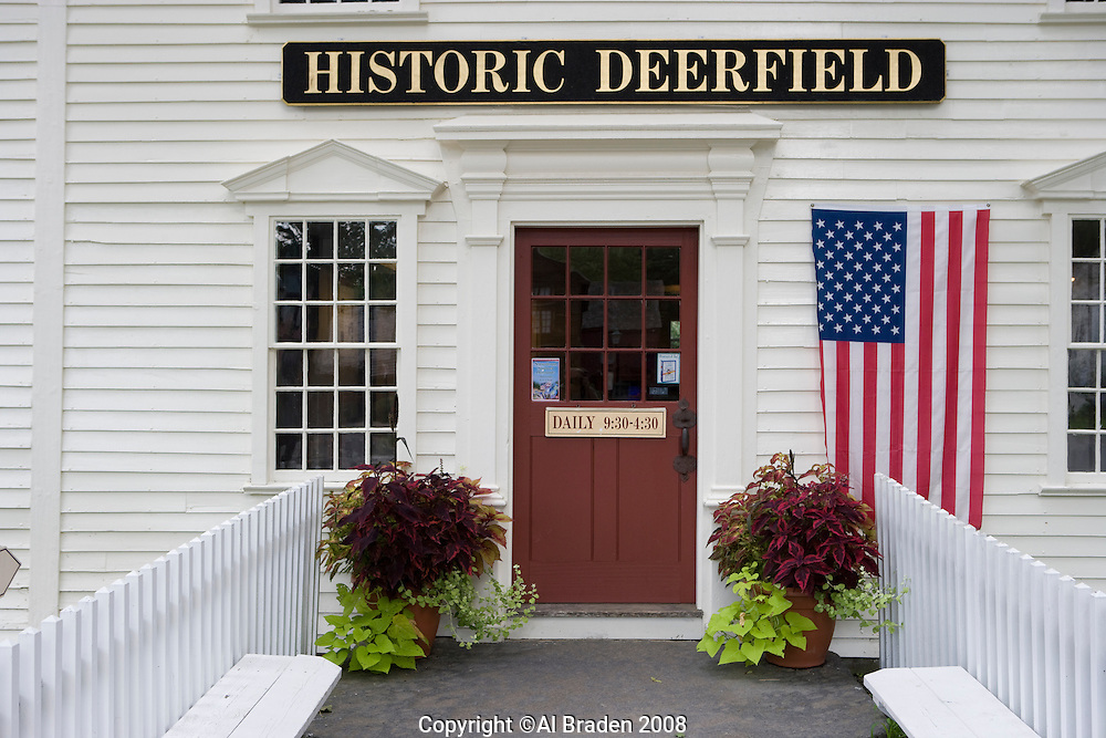 Historic Deerfield site in Deerfield, MA played a major roll in the colonization of the Connecticut River Valley.