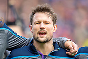 Pete Horne (#12) of Scotland before the Guinness Six Nations match between Scotland and Wales at BT Murrayfield Stadium, Edinburgh, Scotland on 9 March 2019.