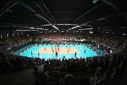 20160505 BEL: Volleybal: Noliko Maaseik - Knack Roeselare, Maaseik  <br />Overview Lotto Dome, Maaseik