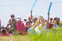 May 12, 2019 - Dallas, TX, U.S. - DALLAS, TX - MAY 12: Matt Every hits from the #4 fairway bunker during the final round of the AT&T Byron Nelson on May 12, 2019 at Trinity Forest Golf Club in Dallas, TX. (Photo by Andrew Dieb/Icon Sportswire) (Credit Image: © Andrew Dieb/Icon SMI via ZUMA Press)