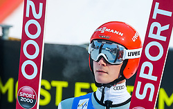 16.03.2017, Granasen, Trondheim, NOR, FIS Weltcup Ski Sprung, Raw Air, Trondheim, im Bild Stephan Leyhe (GER) // Stephan Leyhe of Germany // during the 3rd Stage of the Raw Air Series of FIS Ski Jumping World Cup at the Granasen in Trondheim, Norway on 2017/03/16. EXPA Pictures © 2017, PhotoCredit: EXPA/ Tadeusz Mieczynski
