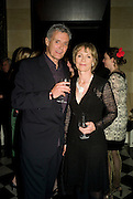 LUCY FLEMING WITH HER HUSBAND WILLIAM, The launch of the new James Bond book Devil May Care, by Sebastian Faulks. 27 May at FIFTY, St James. London *** Local Caption *** -DO NOT ARCHIVE-© Copyright Photograph by Dafydd Jones. 248 Clapham Rd. London SW9 0PZ. Tel 0207 820 0771. www.dafjones.com.
