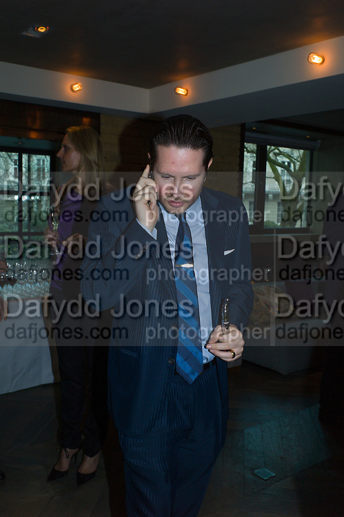 JAMES STUNT, Spectator Life - 3rd birthday party. Belgraves Hotel, 20 Chesham Place, London, SW1X 8HQ, 31 March 2015