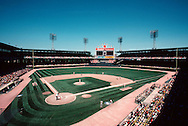 "CHICAGO, IL-UNDATED: ""Old"" Comiskey Park, home of the Chicago White Sox from 1910 thru 1990. It was demolished in 1991. (Photo by Ron Vesely)"