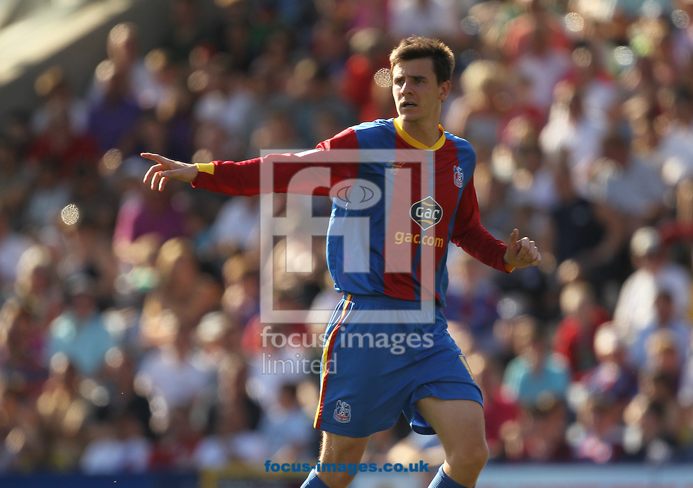 Picture by Daniel Weir/Focus Images Ltd +44 7982 911743.18/08/2012.Owen Garvan of Crystal Palace FC during the npower Championship match between Crystal Palace FC & Watford FC at Selhurst Park, London.