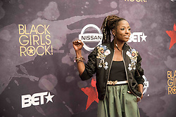 August 6, 2017 - New Jersey, U.S - RUTINA WESLEY, at the Black Girls Rock 2017 red carpet. Black Girls Rock 2017 was held at the New Jersey Performing Arts Center in Newark New Jersey. (Credit Image: © Ricky Fitchett via ZUMA Wire)