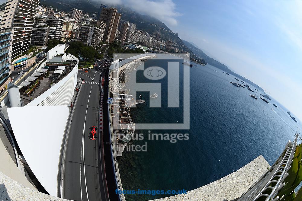 Sebastian Vettel of Scuderia Ferrari  during the practice session for the 2017 Monaco Formula One Grand Prix at the Circuit de Monaco, Monte Carlo<br /> Picture by EXPA Pictures/Focus Images Ltd 07814482222<br /> 25/05/2017<br /> *** UK &amp; IRELAND ONLY ***<br /> <br /> EXPA-EIB-170525-0095.jpg