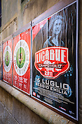 Billboards, Venice, Veneto, Italy