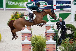 Marlon Modolo Zanotelli, (BRA), AD Clouwni - Team & Individual Competition Jumping Speed - Alltech FEI World Equestrian Games™ 2014 - Normandy, France.<br /> © Hippo Foto Team - Leanjo De Koster<br /> 02-09-14