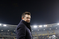 February 8, 2019 - Verona, Italia - Foto Paola Garbuio/LaPresse.08 febbraio 2019 Verona, Italia.sport.calcio.Chievo Verona  vs Roma- Campionato di calcio Serie A TIM 2018/2019 - stadio Bentegodi.Nella foto: di francesco..Photo Paola Garbuio/LaPresse.february  08, 2019 Verona, Italy.sport.soccer.Chievo Verona  vs Roma  - Italian Football Championship League A TIM 2018/2019 -  stadio Bentegodi..In the pic:di francesco (Credit Image: © Paola Garbuio/Lapresse via ZUMA Press)