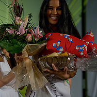 Thai participant Jeuoy Nathalie from Switzerland attends placing second during the Miss Asia Europe beauty contest held in Budapest, Hungary, Saturday, 05. December 2009. ATTILA VOLGYI