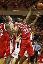 31 January 2004  Bradley University visit Redbird Arena in Normal Illinois, home of the Illinois State University Redbirds.