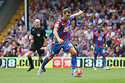 James McArthur of Crystal Palace during the Barclays Premier League match between Crystal Palace and Arsenal at Selhurst Park, London, England on 16 August 2015. Photo by Phil Duncan.