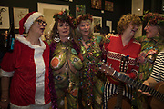 THE NEO NATURISTS AND THE RAINCOATS, Neo Naturist Christmas event , Studio Voltaire Gallery shop, Cork St.   20 November 2019THE NEO NATURISTS AND THE