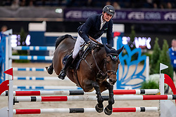Tebbel Maurice, GER, Chacco's Son<br /> Stuttgart - German Masters 2018<br /> © Hippo Foto - Stefan Lafrentz