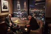David Kirke,; Ed Hulton, Hilton Hyde Park corner, London, 8 November 2017