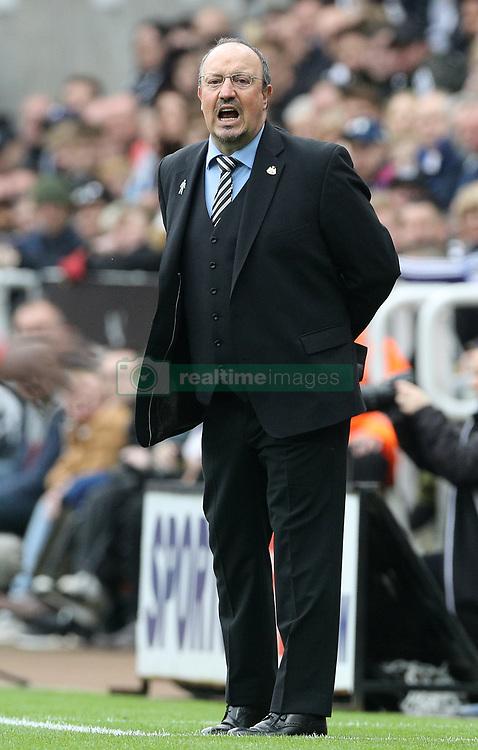 Newcastle United manager Rafael Benitez during the Premier League match at St James' Park, Newcastle.