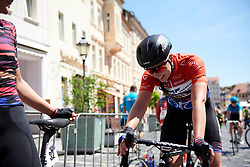 Lisa Klein (GER) finishes Lotto Thüringen Ladies Tour 2019 - Stage 6, a 86 km road race in Altenburg, Germany on June 2, 2019. Photo by Sean Robinson/velofocus.com