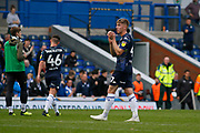 Leeds United forward Jack Clarke (47) applauds the fans at full time during the EFL Sky Bet Championship match between Blackburn Rovers and Leeds United at Ewood Park, Blackburn, England on 20 October 2018.