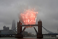 "QUEEN'S JUBILEE PAGEANT.Tower Bridge with the Fireworks going off for Her Majesty The Queen..London. 03/06/2012.Mandatory Credit Photo: ©B Sutton/NEWSPIX INTERNATIONAL..**ALL FEES PAYABLE TO: ""NEWSPIX INTERNATIONAL""**..IMMEDIATE CONFIRMATION OF USAGE REQUIRED:.Newspix International, 31 Chinnery Hill, Bishop's Stortford, ENGLAND CM23 3PS.Tel:+441279 324672  ; Fax: +441279656877.Mobile:  07775681153.e-mail: info@newspixinternational.co.uk"