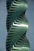 Revolution Tower es un rascacielo de oficinas que se ubica en el sector financiero de la ciudad de Panama, calle 50. Panama, 11 de enero de 2013. (Victoria Murillo/Istmophoto).