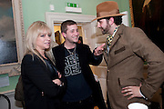 JO WOOD; TYRONE WOOD, Mat Collishaw, Tracey Emin & Paula Rego: At the Foundling. Foundling Museum. Brunswick Square. London. 12 February 2010.