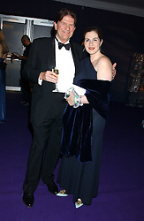 JOHN MADJESKI and GEMMA SHEPPARD at The British Red Cross London Ball - H2O The Element of Life, held at The Room by The River, 99 Upper Ground, London SE1 on 17th November 2005.<br />