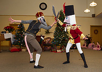Lakes Region Dance Company's performance of the Nutcracker at Taylor Community.  Karen Bobotas for the Laconia Daily Sun