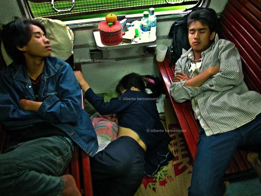 Vietnam: on the train to Hué.