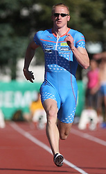 Matic Osovnikar at Athletic National Championship of Slovenia, on July 19, 2008, in Stadium Poljane, Maribor, Slovenia. (Photo by Vid Ponikvar / Sportal Images).