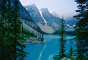 Moraine Lake in Banff National Park, the Rockies, Alberta, Canada
