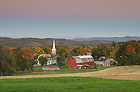 Picturesque rural scene, Peacham, Vermont