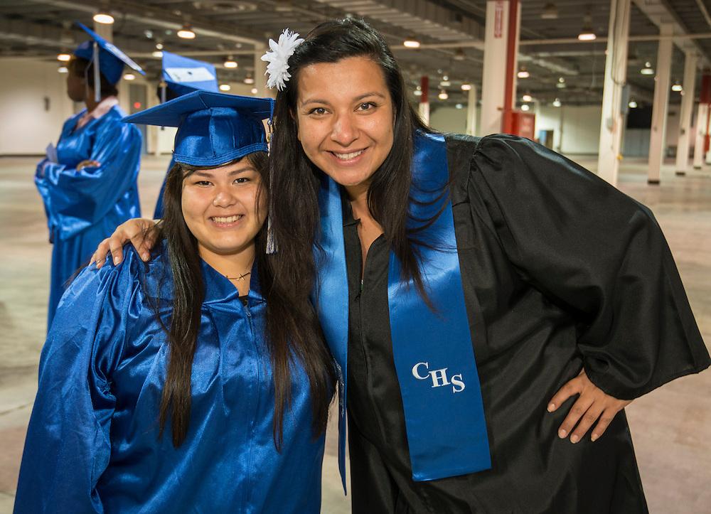 Chavez High School graduation at Reliant Arena, June 8, 2013.