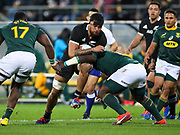 New Zealand's Via Fifita. All Black's v South Africa, Rugby Championship, Westpac Stadium, Wellington, New Zealand. Saturday, 27 July, 2019. Copyright photo: John Cowpland / www.photosport.nz