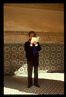 Arata Isozaki, Japanese architect in Marrakech, Morocco.