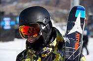 Gus Kenworthy during Men's Ski Slopestyle Practice at the 2013 X Games Aspen at Buttermilk Mountain in Aspen, CO.  Brett Wilhelm/ESPN