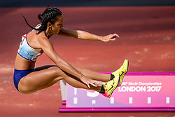 06-08-2017 IAAF World Championships Athletics day 3, London<br /> Katarina Johnson-Thompson GBR