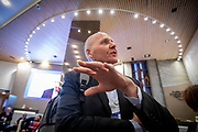 CEO of the Norwegian Telecommunication company Telenor, Sigve Brekke, at the annual World Economic Forum in Davos.