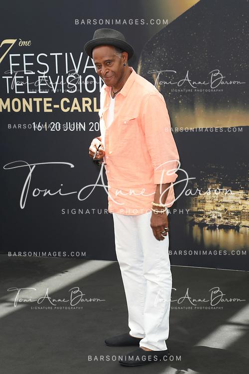 """MONTE-CARLO, MONACO - JUNE 19:  Antonio Fargas attends """"Cherif / Starsky & Hutch"""" photocall on June 19, 2017 at the Grimaldi Forum in Monte-Carlo, Monaco.  (Photo by Tony Barson/FilmMagic)"""