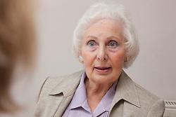 Portrait of elderly lady