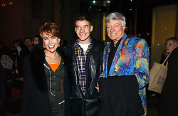 """MR GEOFFREY ROBERTSON QC, his wife writer KATHY LETTE and their son JULIUS ROBERTSON attend opening night of """"Kylie - The Exhibition"""" at Victoria & Albert Museum February 6, 2007 in London.<br /><br />NON EXCLUSIVE - WORLD RIGHTS"""