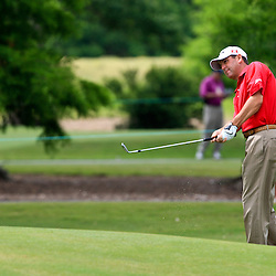 2009 April 26: Harrison Frazar of Dallas TX on the seventh hole during the final round of the Zurich Classic of New Orleans PGA Tour golf tournament played at TPC Louisiana in Avondale, Louisiana.