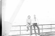 """AMAZING Photo Film discovered Documenting Work In Chernobyl <br /> Chernobyl worker Aleksandr Shubovskiy captures rare images <br /> <br /> During one of the days in 1979-80, when the erection of Ventilation Stack VT-2 common for the third and fourth (not existed at that time) Chernobyl NPP Units was coming to the end, Aleksandr Shubovskiy, who was working within a combined installation crew in a company named """"Spetsenergomontazh"""", arranged with the colleagues a small photo session on his own,They had their pictures taken.<br /> <br /> The author processed the film and put it on a wardrobe without printing until he had time to print the images. The moment to print the film somehow did not happen, while in February 1986 Aleksandr hit the road for a on a different site in Yakutia. And there he was caught by news about the accident at Chernobyl.<br /> <br /> A year later, when a Aleksandr  managed to get into his looted flat in the evacuated Pripyat, he discovered an untouched package with films. He brought them home and… forgot for almost 40 years…the printed photographs which no one and never have seen before until now<br /> ©Aleksandr Shubovskiy/Exclusivepix Media"""